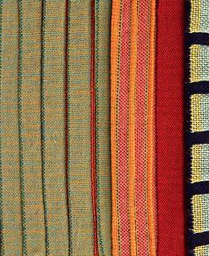 The book Color and Texture in Weaving by Margo Selby is full of inspiration, like creating color wraps and idea boards for your weaving projects. Photo by Phil Wilkins.