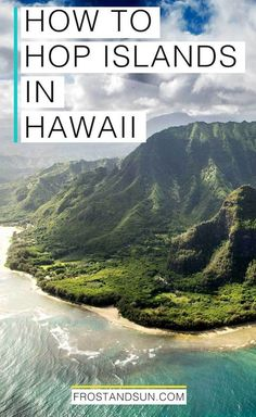 No trip to Hawaii is complete without island hopping. Here's how to get from island to island by air + sea. hawaii travel tips for beach vacation ideas Hawaii Honeymoon, Hawaii Vacation, Beach Trip, Vacation Trips, Vacation Ideas, Vacation Travel, Beach Vacations, Summer Travel, Hawaii Trips