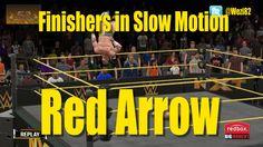 WWE 2K15 Finishers in Slow Motion - Red Arrow (Adrian Neville)