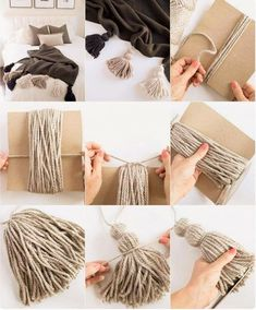 Creating awesome homemade cozy diy does not require serious artistic talent. - Creating awesome homemade cozy diy does not require serious artistic talent. Get… Creating awesome homemade cozy diy does not require serious artistic talent. Rope Crafts, Yarn Crafts, Diy And Crafts, Arts And Crafts, Cute Diy Crafts For Your Room, Diy Wall Decor, Easy Diy Room Decor, Diy Decoration, Home Decor