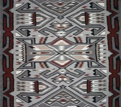 Native American, Navajo Teec Nos Pos Textile/Rug, Ca 1970's, #959