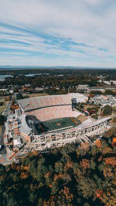 Memorial Stadium - University of Clemson Auburn Football, Clemson Tigers, Auburn Tigers, Clemson Football Stadium, College Football Games, Liberty University, Auburn University, Ivy University, World Football