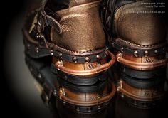 亗 Dr. Emporio Efikz 亗 — Steampunk skypirate boots