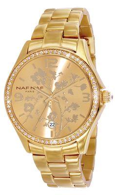 NAF NAF horloge N10024G-102   Lucardi.nl