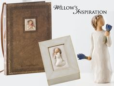 Package one!  A Willow Tree Journal, Keepsake Box, and Figurine (images property of Demdaco) July 19-20, 2013
