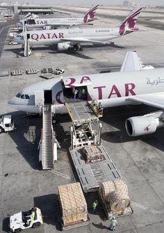 Qatar Airways Airbus A300-600 Cargo Freighter