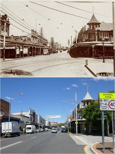 Military Road, Mosman at the cnr of Avenue Road looking south > [State Library of NSW > Kevin Sundgren. By Kevin Sundgren] Old Pictures, Old Photos, Then And Now Photos, Amazing Pics, Live In The Now, Sydney Australia, North Shore, South Wales, Historical Photos