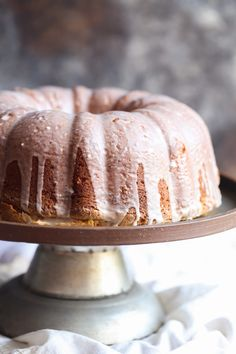 Coconut Cream Cheese Pound Cake  Made this gluten free and with 1c less sugar...delicious.