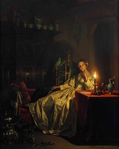NO BIRDS! — monsieurleprince:    Petrus van Schendel (1806 -...