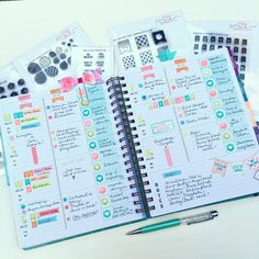 """Sierra Friend on Instagram: """"Up on the @studio_l2e blog today, showcasing the new release sets in my @inkwellpress Flex planner (my absolute fav release so far! ) Www.Studiol2eblog.com ALSO- lots of ideas on how I customize my Inkwell Flex planner, just in time for #pickyouriwp week! """""""