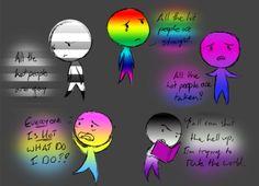 My art LGBT bisexuality Asexuality heterosexual pansexuality homoseuxality