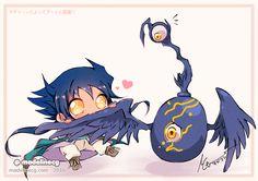 Aigami x Vijam Houkai YU-GI-OH [DSOD] by MadelineCG on DeviantArt