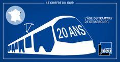 Le tramway de Strasbourg fête ses 20 ans. France Bleu propose un retour en images et en chiffres sur cette aventure. #tramway