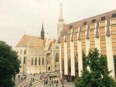 Budapešť contrast