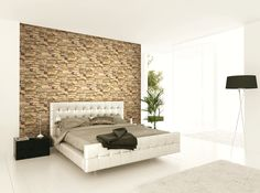 Limestone Wallcovering 3D Collection from Wallquest