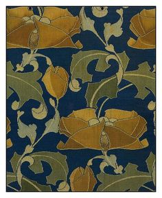 Designed by Charles Francis Annesley Voysey, Arts and Crafts Movement