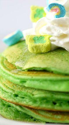 Green Pancakes