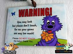 Do Not Touch the Baby Signs  #baby #shopping #preemie #signs