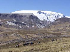 Peruvian ice cap - conquistadors