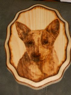 Wood burned art by Colleen Jess  Puppy  http://www.facebook.com/pages/Great-Jesspectations/87931702513
