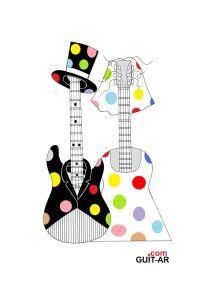 Wedding guitar by Juan Ponte