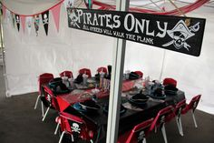 """Photo 36 of 68: Pirate / Birthday """"Captain Blake's 3rd Voyage"""" 