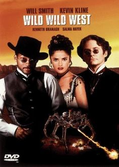 "Wild Wild West (1999) Poster - ""Panned by the critics and probably everyone else, but I enjoyed it. What can I say, I love Will."""