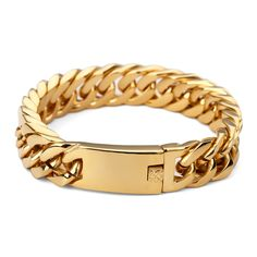 AGOOD Cool Men Stainless Steel Heavy Curb Chain Bracelet 91g Weight Thick Link Chain Boy Hip Hop Bracelets Fashion Jewelry Gift. Yesterday's price: US $22.68 (18.54 EUR). Today's price: US $19.96 (16.21 EUR). Discount: 12%.