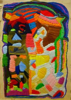 Stitch project, Cathy Byrne, 2014