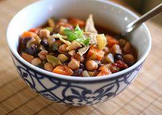 vegetarian sweet potato chili by francine