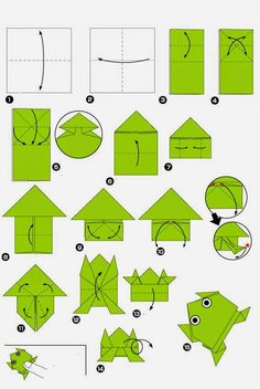 How to get children folding EASY ORIGAMI TULIPS. A great starting origami with only a few steps. Origami is a … Origami Design, Instruções Origami, Cute Origami, Paper Crafts Origami, Oragami, Paper Crafting, Simple Origami, Origami Bookmark, Origami Dragon