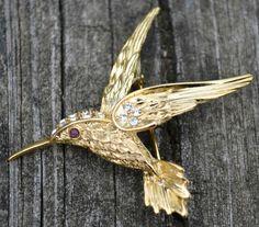 Vintage Hummingbird