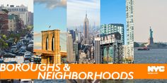 Visitor information about New York City's five boroughs: the Bronx, Brooklyn, Manhattan, Queens and Staten Island. Tips for NYC tourists.