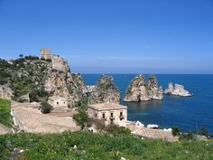 Sicily - Tonnara di Scopello, south entrance of the Zingaro Nature Reserve Sicily Travel, Tuna Fishing, Travel Hotel, Regions Of Italy, Southern Europe, Sicily Italy, Nature Reserve, Sardinia, Italian Style