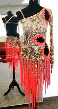 U2288 Women Ballroom latin salsa samba rumba dance competition dress Tailor made #seephoto