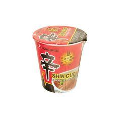 Nong Shim Shin Cup 2.6 oz ($1.09) ❤ liked on Polyvore featuring food, fillers, food and drink, other and food & drinks