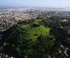 Mt. Eden (Maungawhau) in Auckland, NZ- one of the first places I visited in NZ & arguably the best....