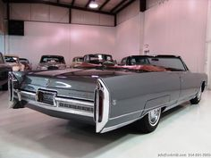 1966 Cadillac Eldorado convertible (the best of American design) WANT