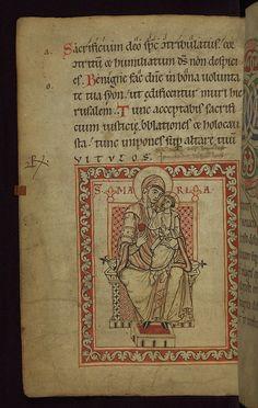 Illuminated Manuscript, Claricia Psalter, Walters Art Museum Ms. W.26, fol.63v   por Walters Art Museum Illuminated Manuscripts
