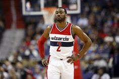 At a D.C. charity event, John Wall says he's in no rush to get back on court