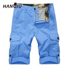 Men's Clothing Dashing Icpans Casual Shorts Zipper Multi-pocket Knee Length Cargo Shorts Men Military Summer Shorts Man Khaki Army Green Without Belt