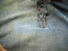 klimperklein: WIP: Jeans flicken ratz fatz