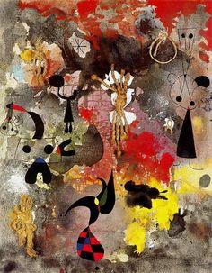 """Pintura 7"", dibujo de Joan Miro (1893-1983, Spain)"