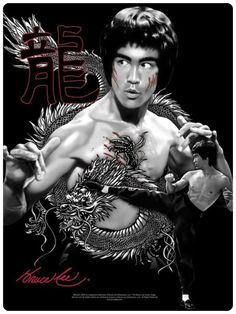 Bruce Lee I did for work. COPYRIGHTED FOR TREVCO, BY CHRISPYART.