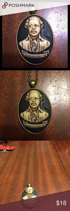 Mozart cameo necklace! BNWT! Jewelry Necklaces