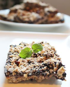 Blueberry Bars, Vegan Blueberry, Little Kitchen, Granola, Cereal, Breakfast, Healthy, Food, Morning Coffee