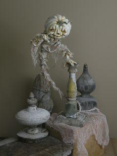Rucus Studio Halloween Ghostly Haunt Art Print