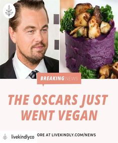Posted The Academy Awards are the latest awards show to . To read more find the link in our stories. Organic Recipes, Vegan Recipes, Academy Awards, Vegan Lifestyle, Plant Based Diet, Veganism, Going Vegan, Fig, Vegetarian