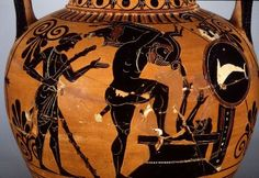 The fourth labour of Hercules was to kill the Erymantian Boar that caused so much trouble. The story is more about centaurs than the boar though.