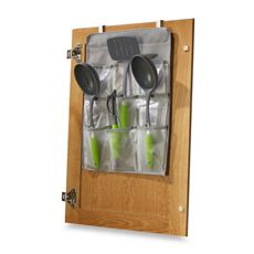 Over-The-Cabinet-Door Gadget Pockets - Bed Bath & Beyond